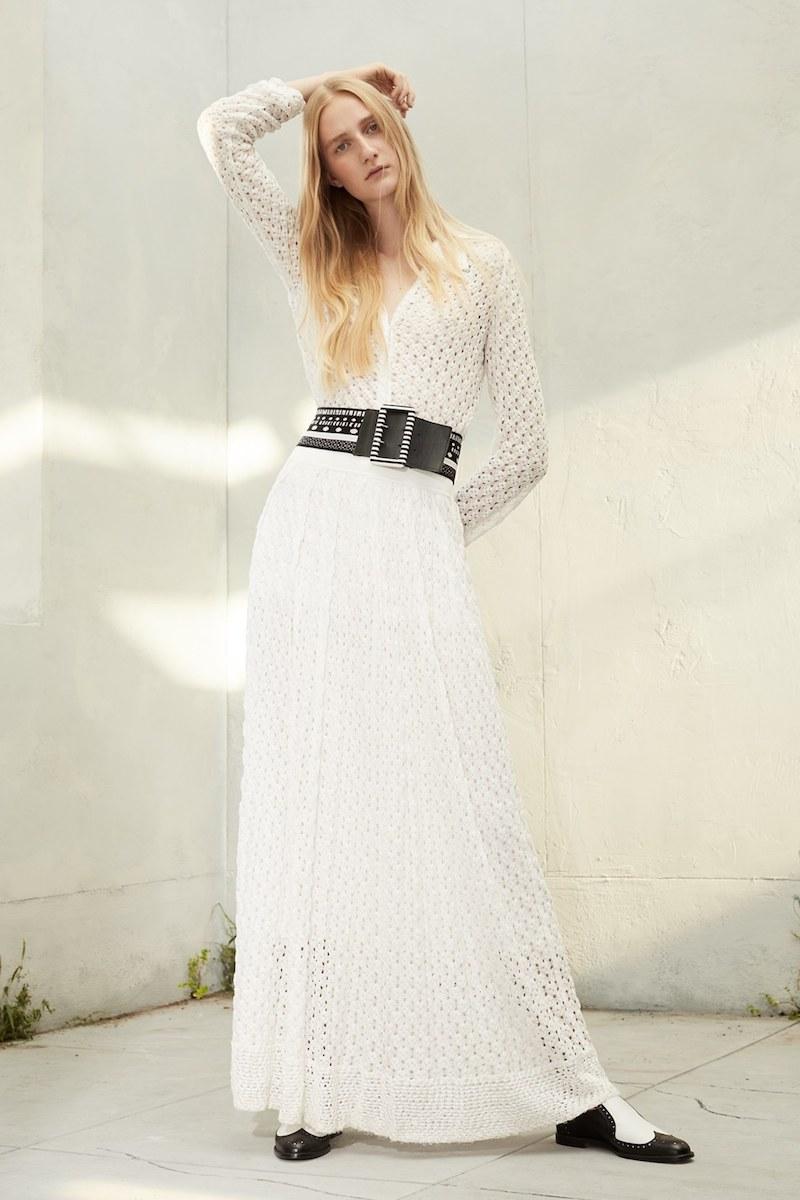 Missoni Lace Knit Midi Skirt