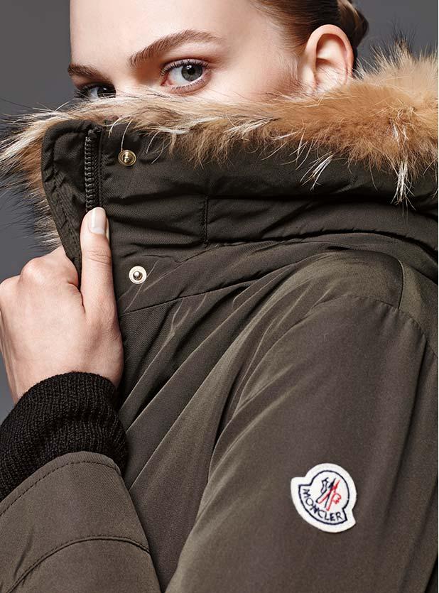 Moncler Margarita Fur-Lined Gabardine Parka 1