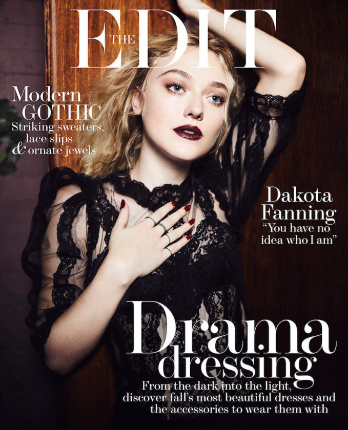 More Than Meets The Eye: Dakota Fanning for The EDIT