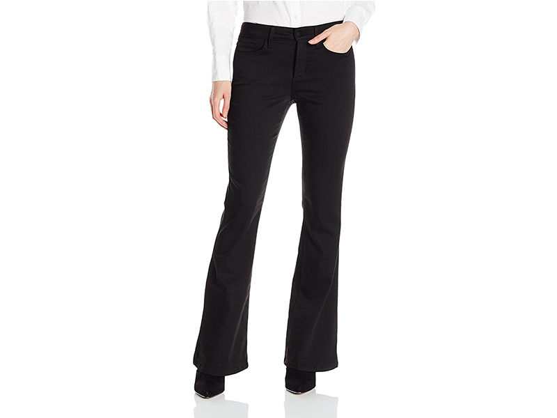 NYDJ Farrah Flare Pants In Forever Black Denim