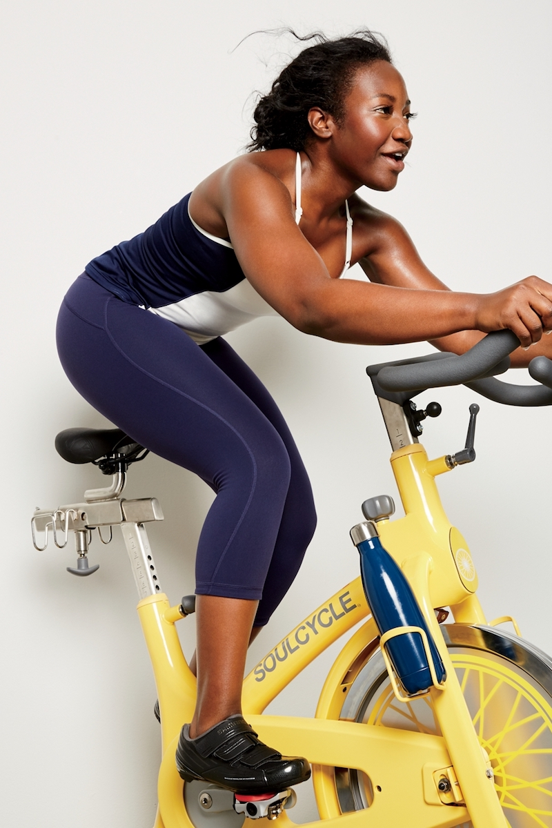 New Balance for J.Crew Colorblock Tank With Built-In Bra