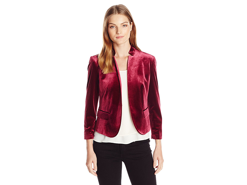Nine West Velvet Kiss Front Jacket
