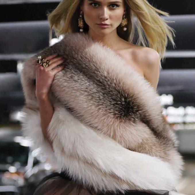 Oscar de la Renta Bold Crystal Pearly Drop Earrings