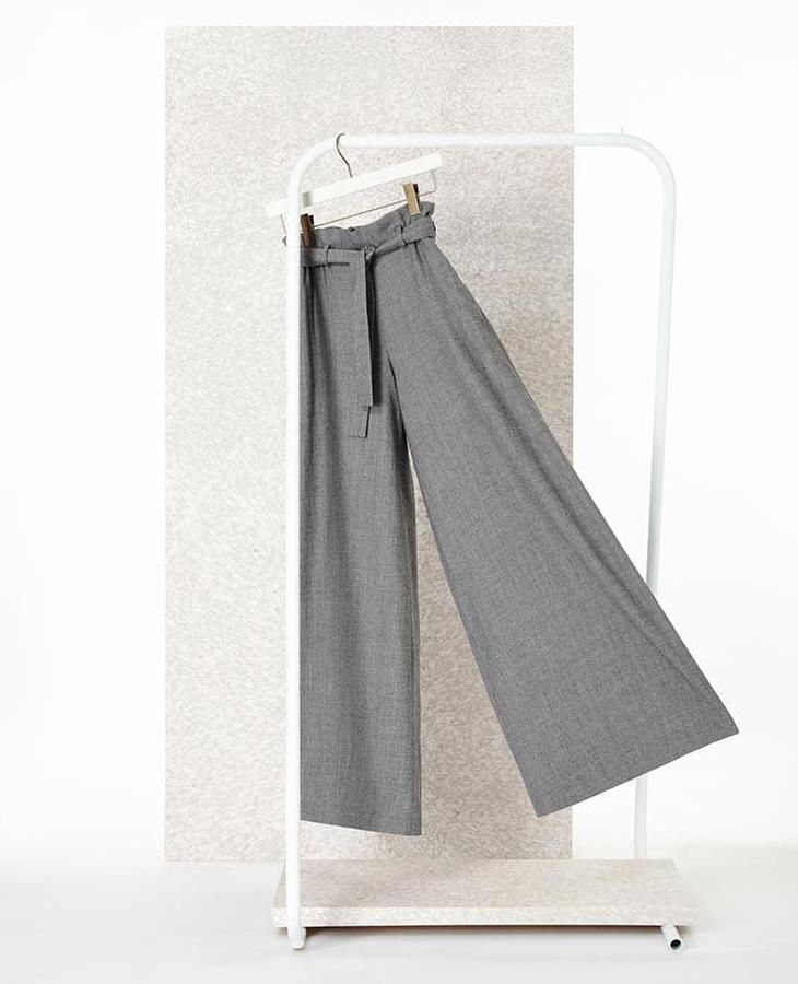 Osman Paloma Wide-Leg Wool Trousers