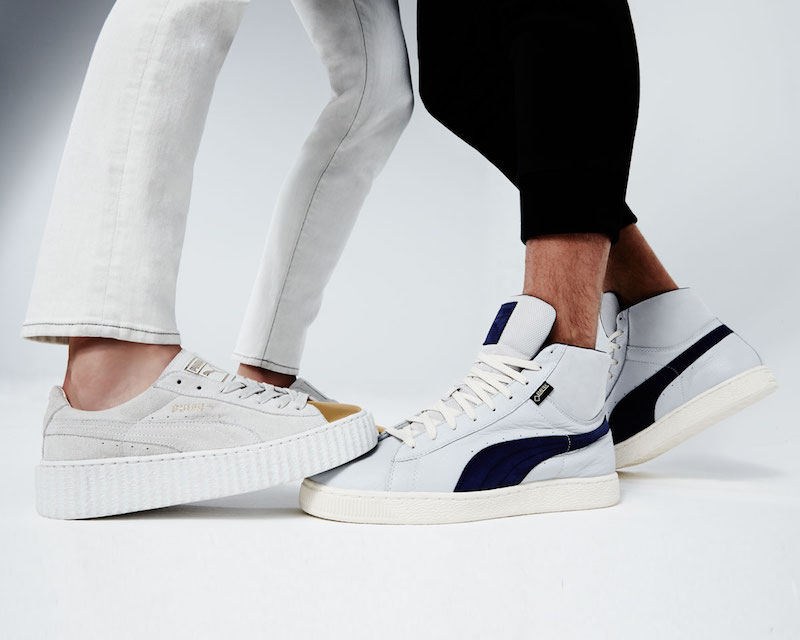 Puma Basket Suede Cap-Toe Creeper