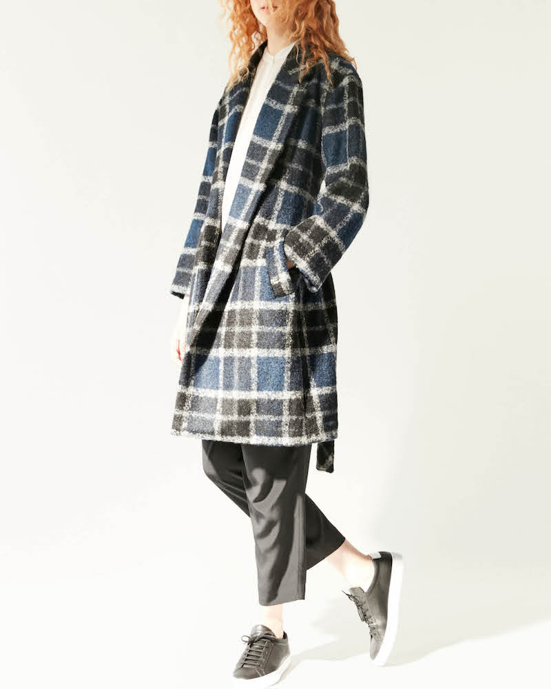 R/R Studio by Robert Rodriguez Brushed Bouclé Coat