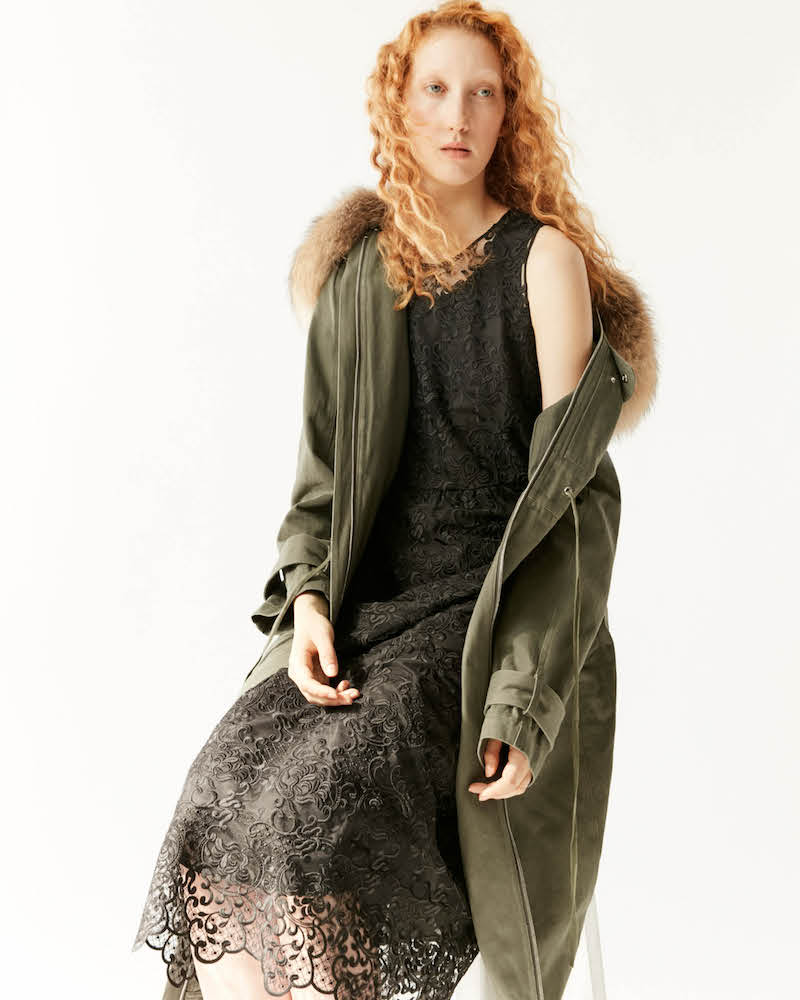 R/R Studio by Robert Rodriguez Fur-Collar Coat