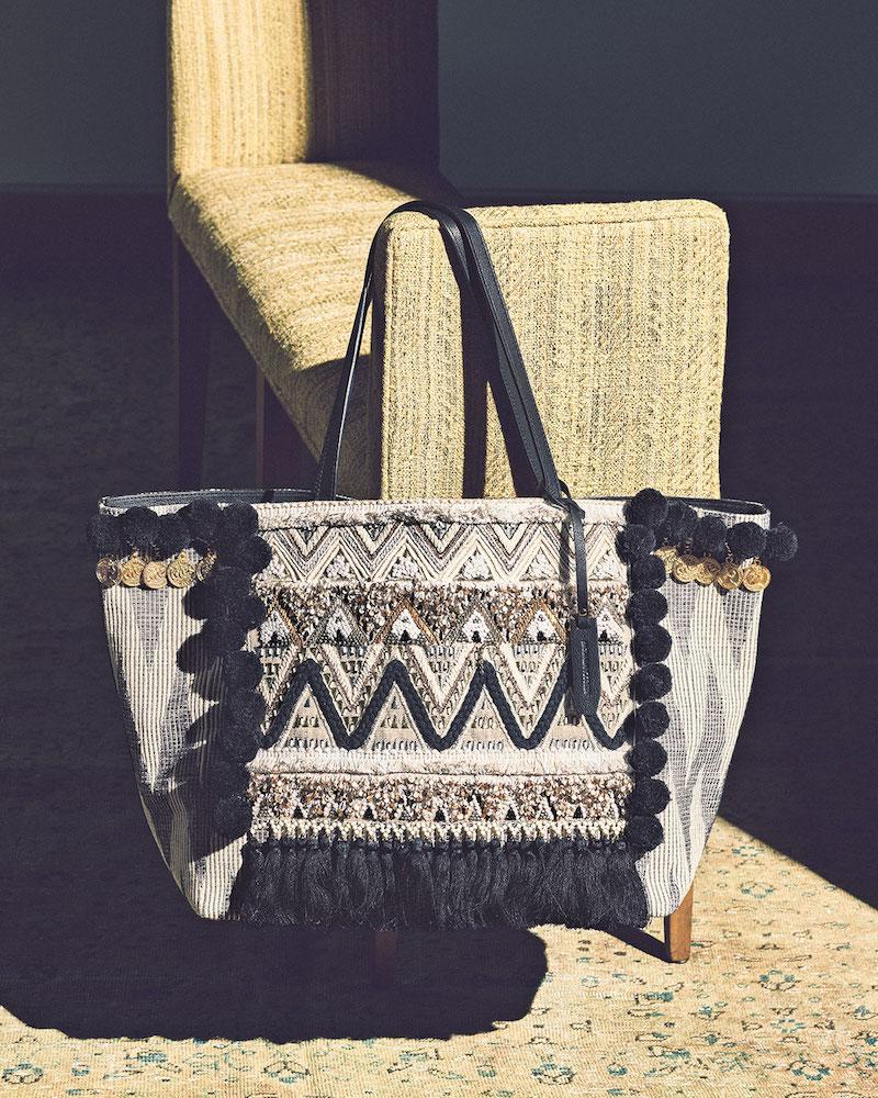 Rebecca Minkoff Taj Large Leather Tote Bag