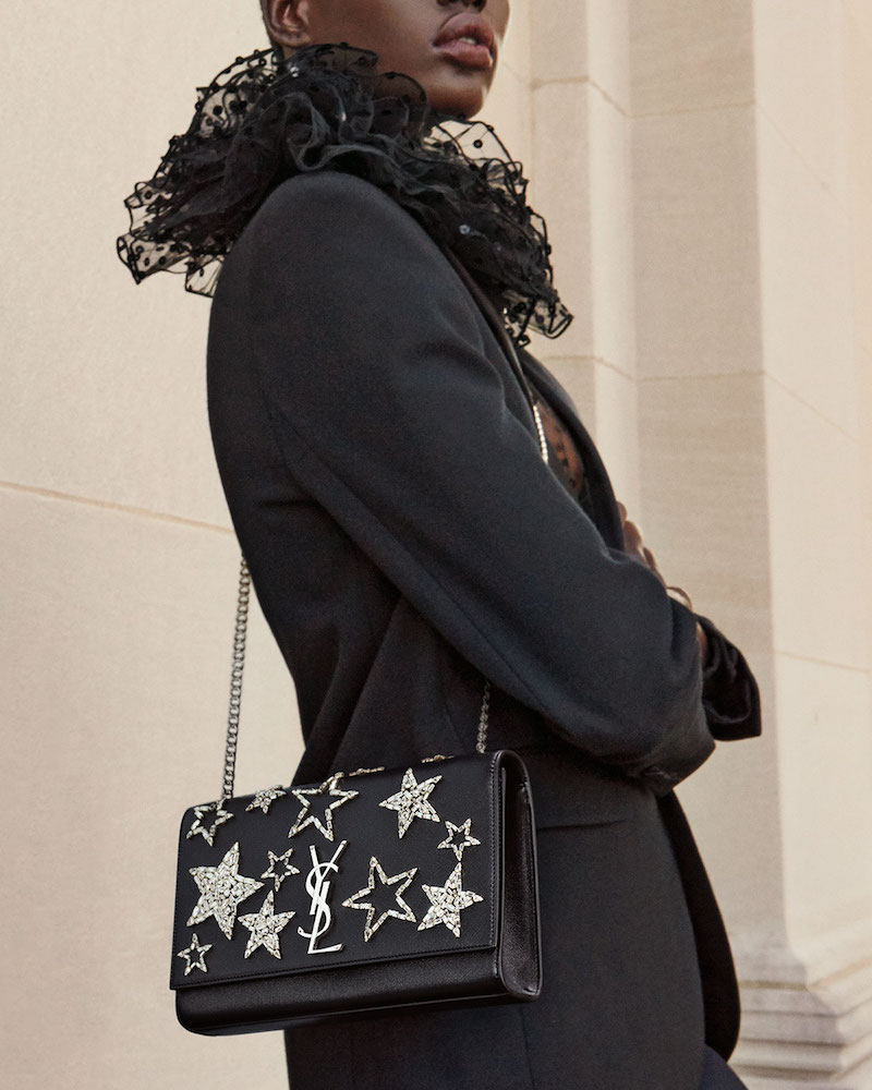 Saint Laurent Monogram Medium Star Chain Shoulder Bag