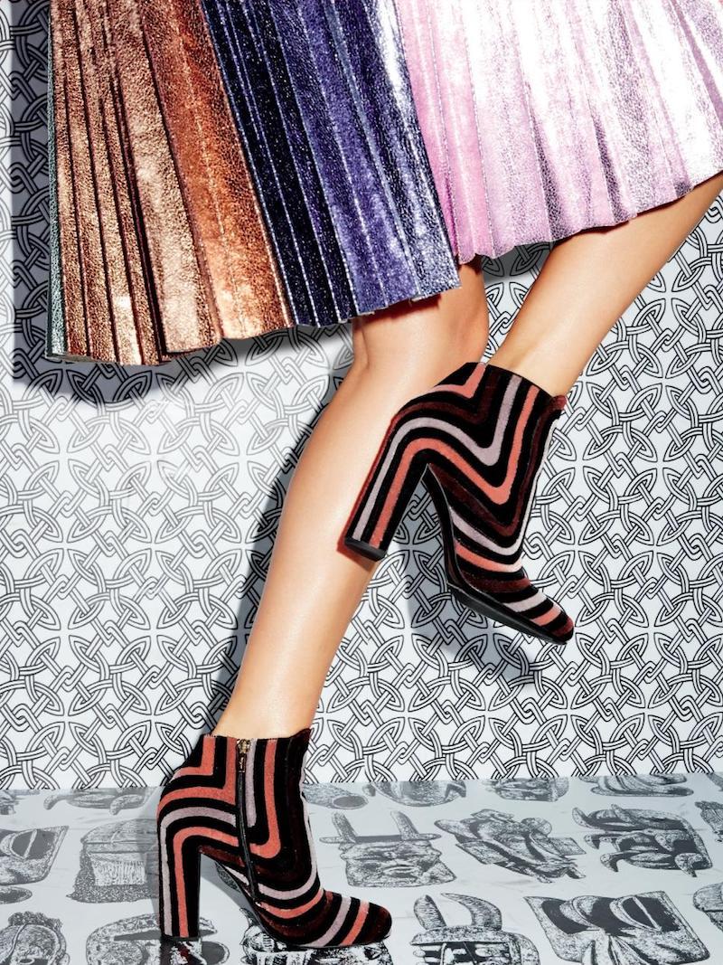 Salvatore Ferragamo Feel Embroidered Velour Block-Heel Booties
