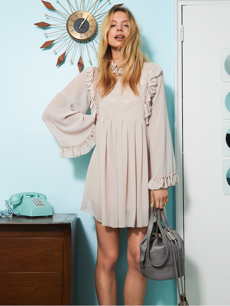 See by Chloé Ruffle Dress