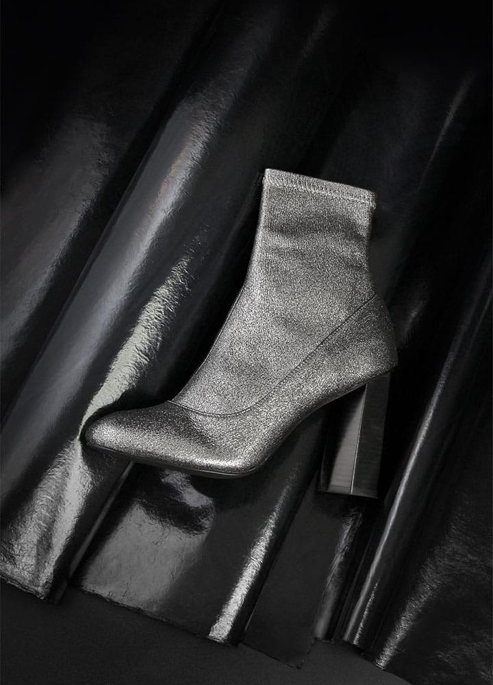 Senso Umar ii Metallic Boots