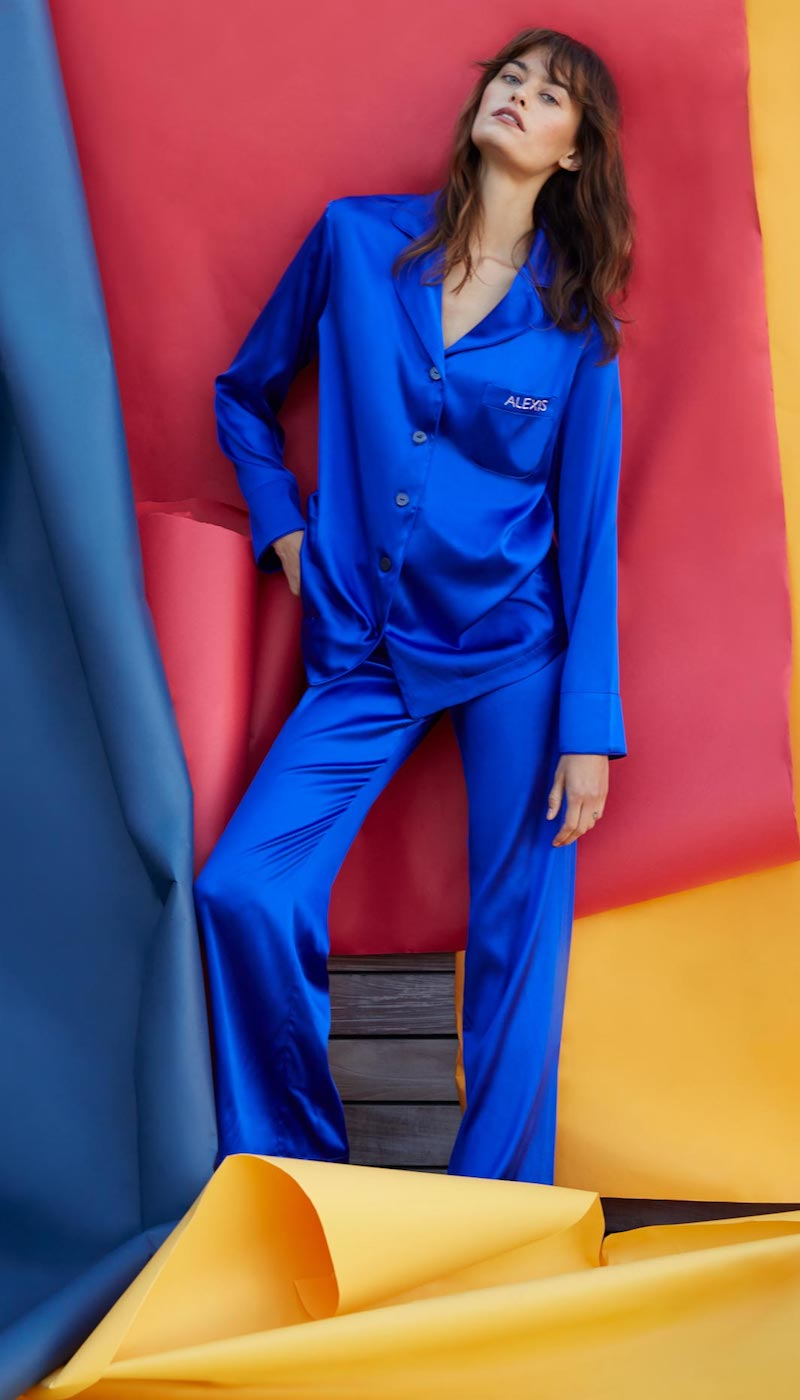 Sleeper Yves Klein Blue Pajama Set