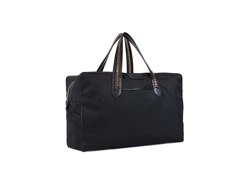 Stella McCartney Black Falabella GO Travel Bag