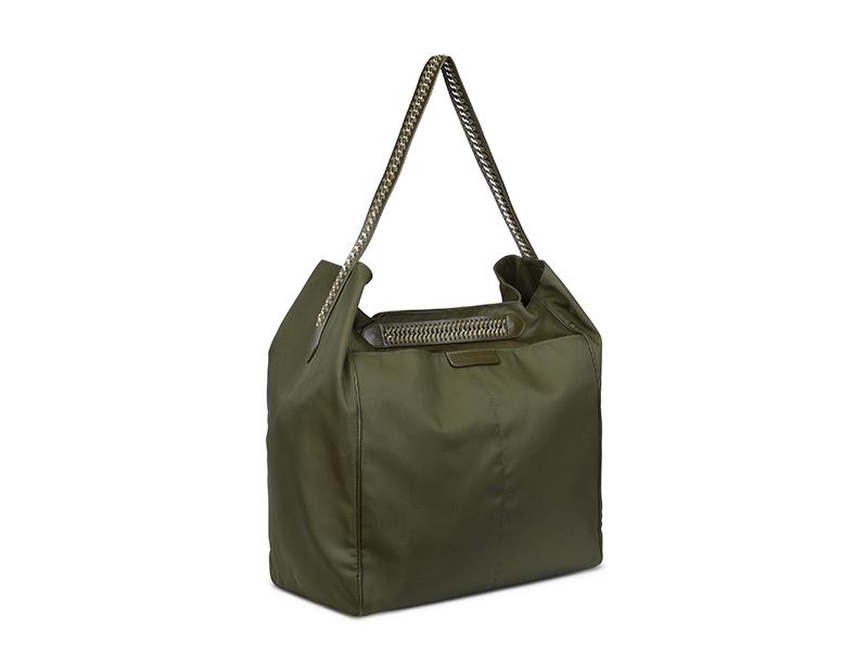 Stella McCartney Khaki Falabella GO Hobo Bag
