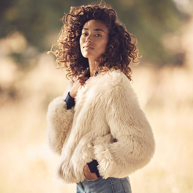 Image result for faux fur fall 2016
