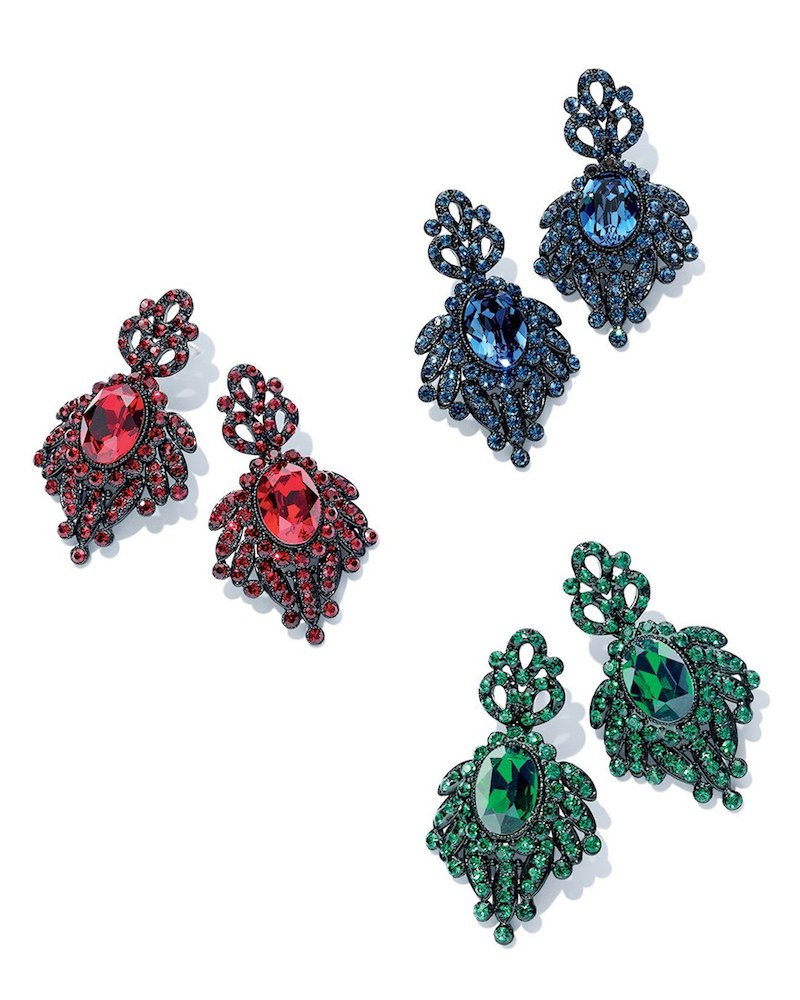 Tasha Crystal Drop Earrings