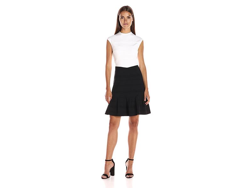 Ted Baker Demore Flared Skirt Detail Dress