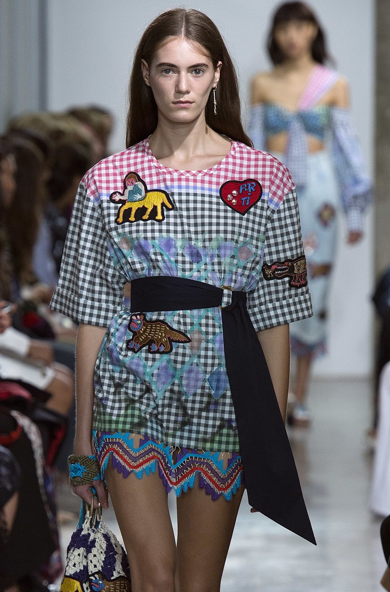 AMEX X Peter Pilotto + Francis Upritchard dress-