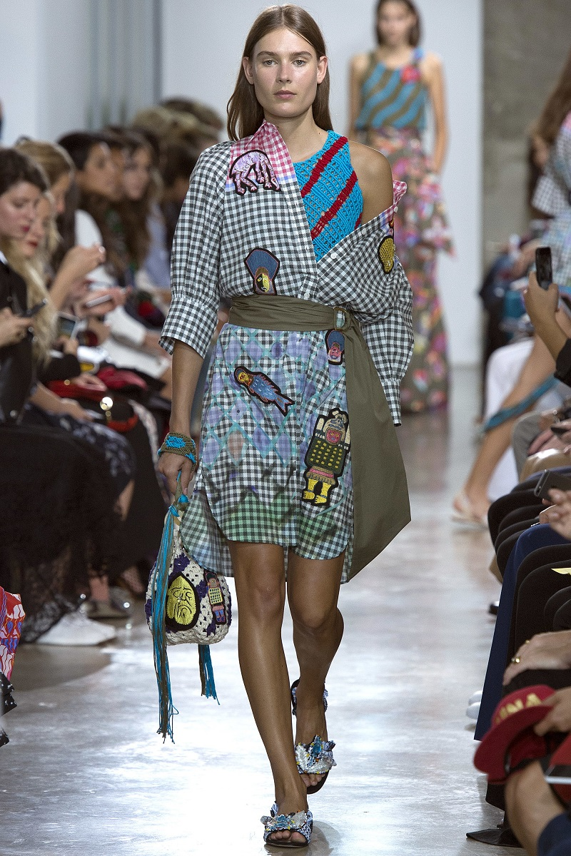 AMEX X Peter Pilotto + Francis Upritchard dress
