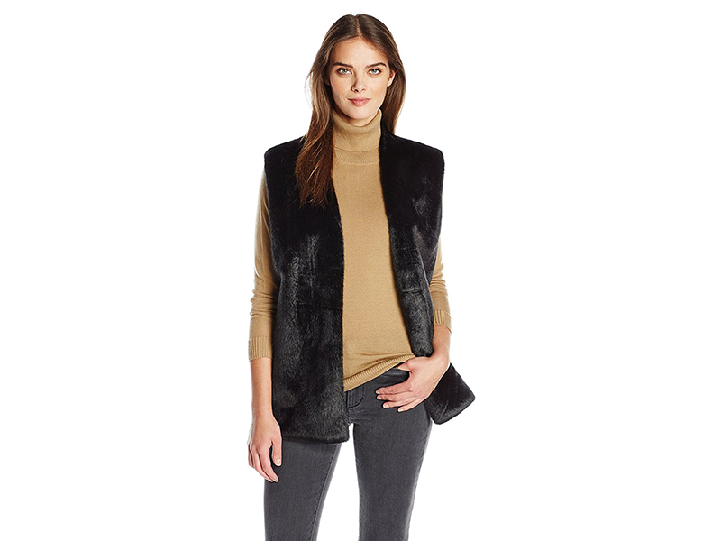 A|X Armani Exchange Faux Fur Vest