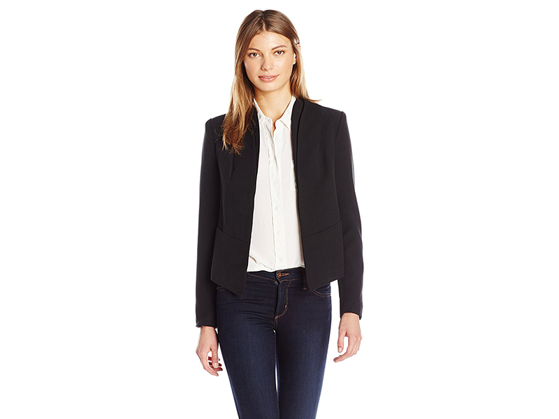 Ark & Co. Layered Tuxedo Collor Jacket