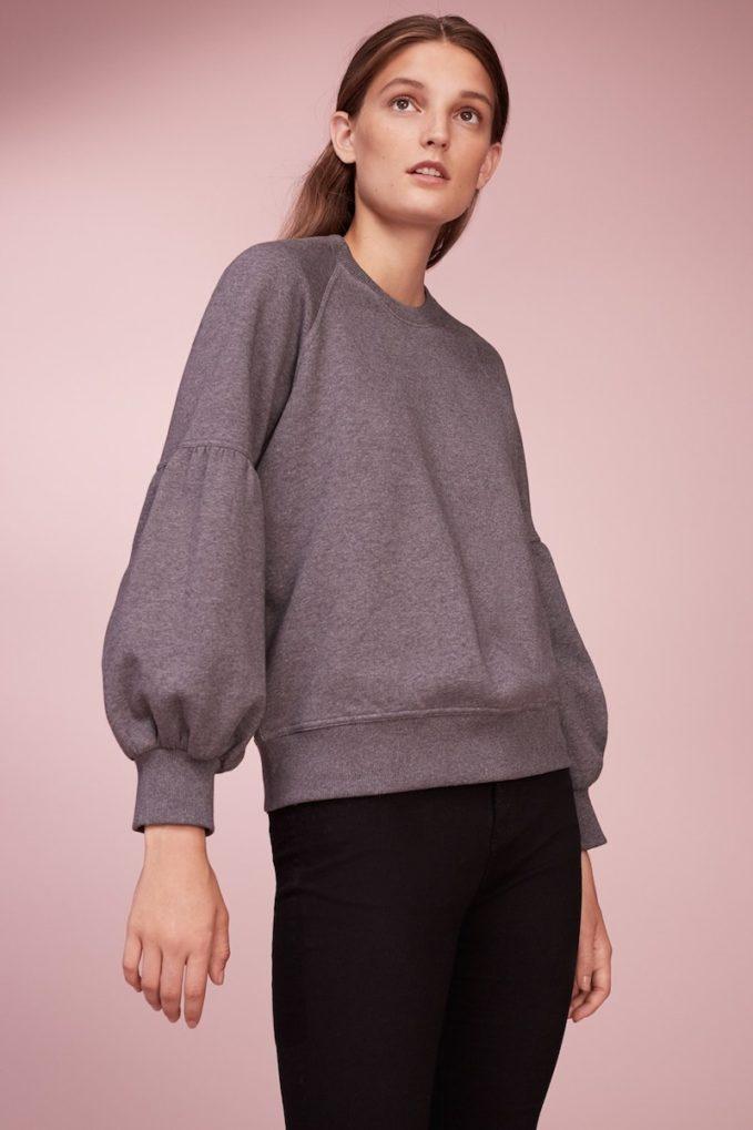 Burberry Bell Sleeve Sweatshirt