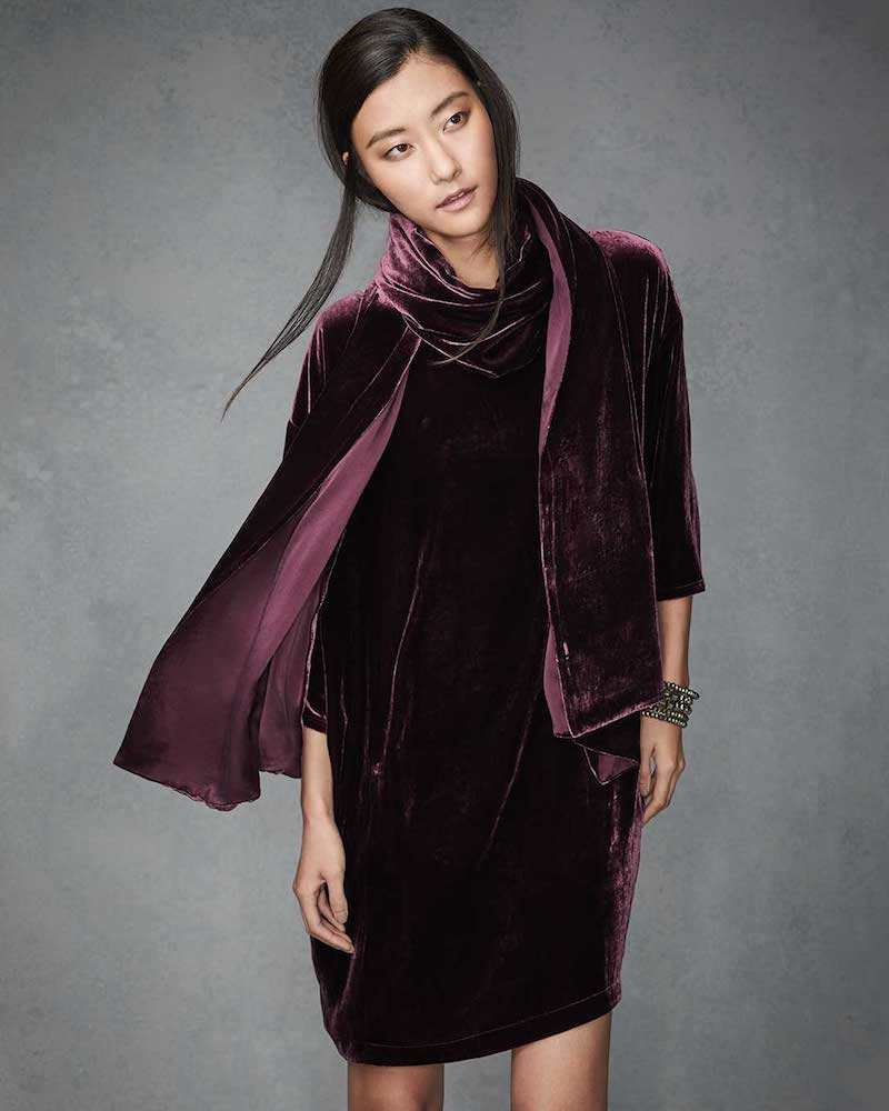 New Velvet: Eileen Fisher Fall 2016 Velvet Lookbook At