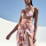 Emilio Pucci Parasol Printed String Bikini Set