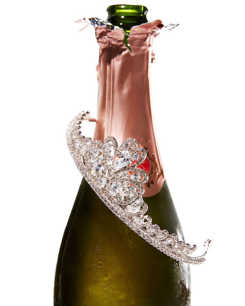 Fallon Monarch Crystal Tiara