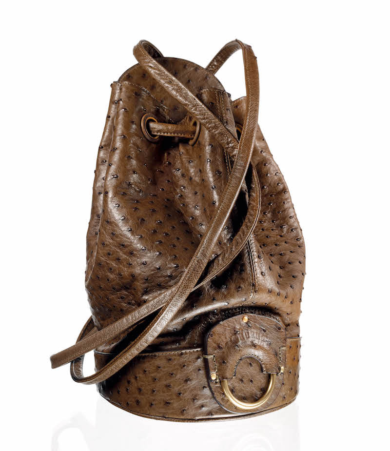 Ghurka Ostrich Backpack