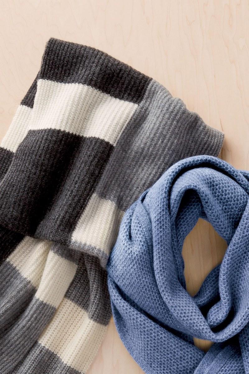 Halogen Knit Cashmere Infinity Scarf
