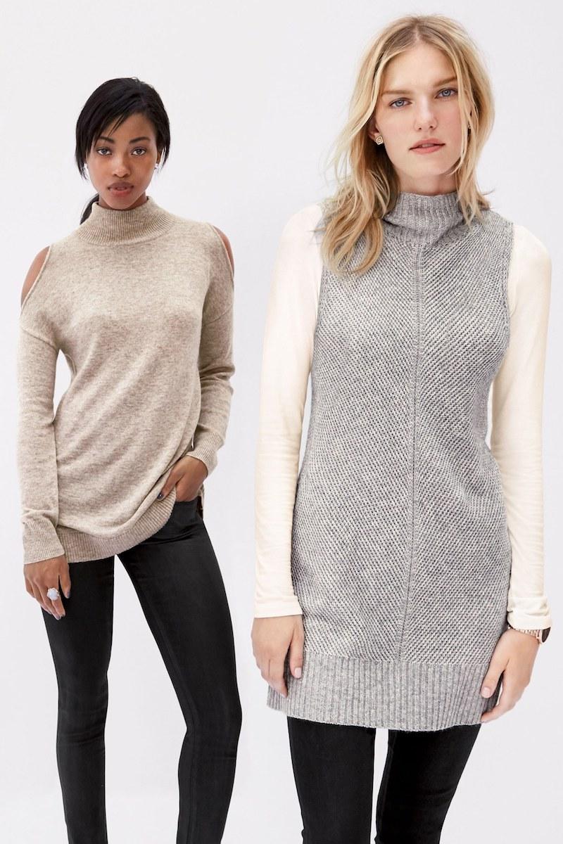 Halogen Sleeveless Tunic Sweater