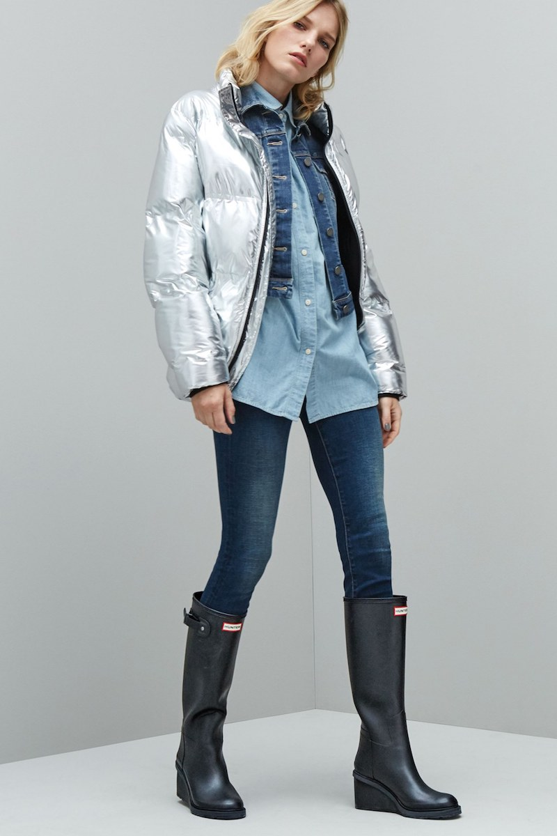 IVY PARK Metallic Puffer Coat
