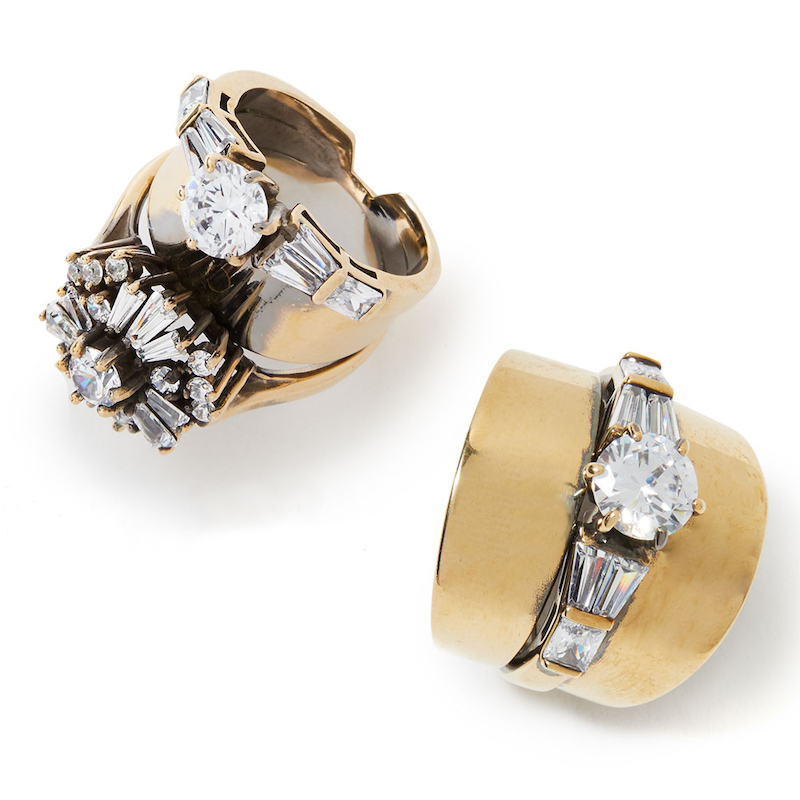 Iosselliani Samantha Stacked Ring