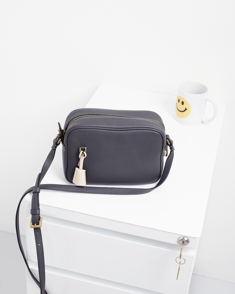 J.Crew Signet Bag In Italian Leather