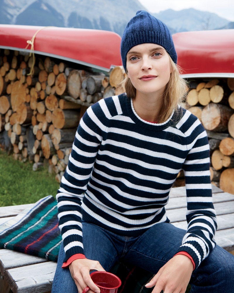 J.Crew Striped Holly Sweater