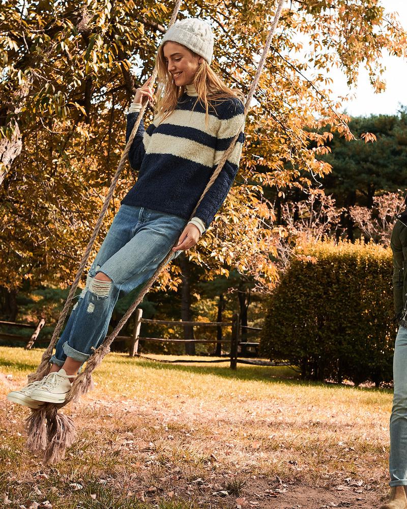 Jenni Kayne Stripe Sweater