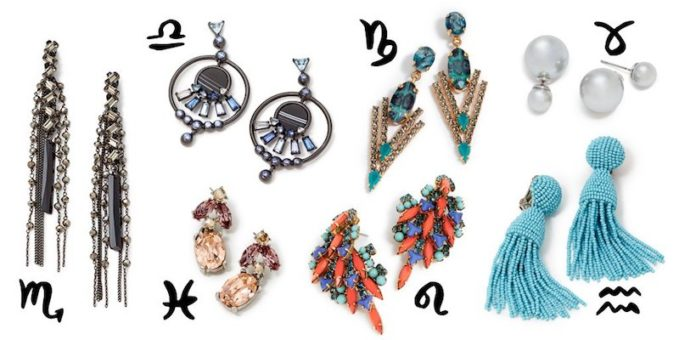 Jewelry For Your Horoscope: Statement Earrings