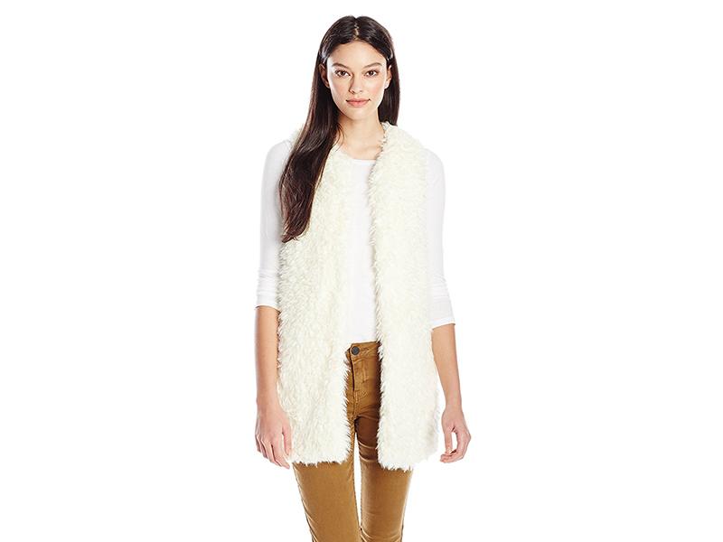 LAmade Mac Sherpa Faux Fur Vest