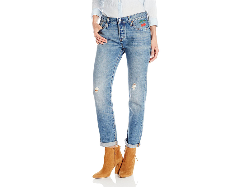 Levi's 501 Customized and Tapered Jean