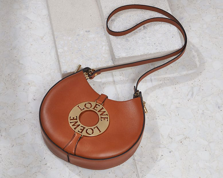 Loewe Joyce Small Leather Shoulder Bag