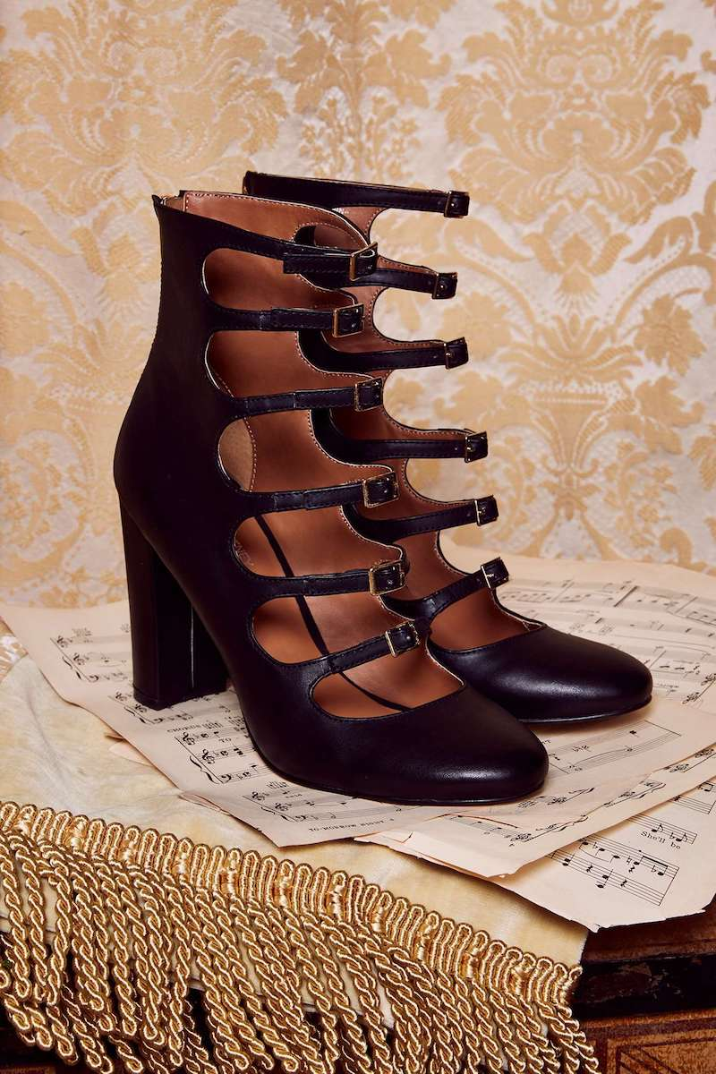 Love, Courtney by Nasty Gal Whiskey a Go Go Heel