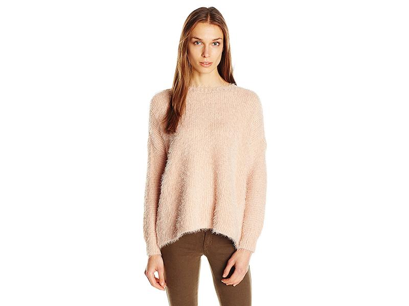 MINKPINK Soft Serve Fluffy Rib Sweater