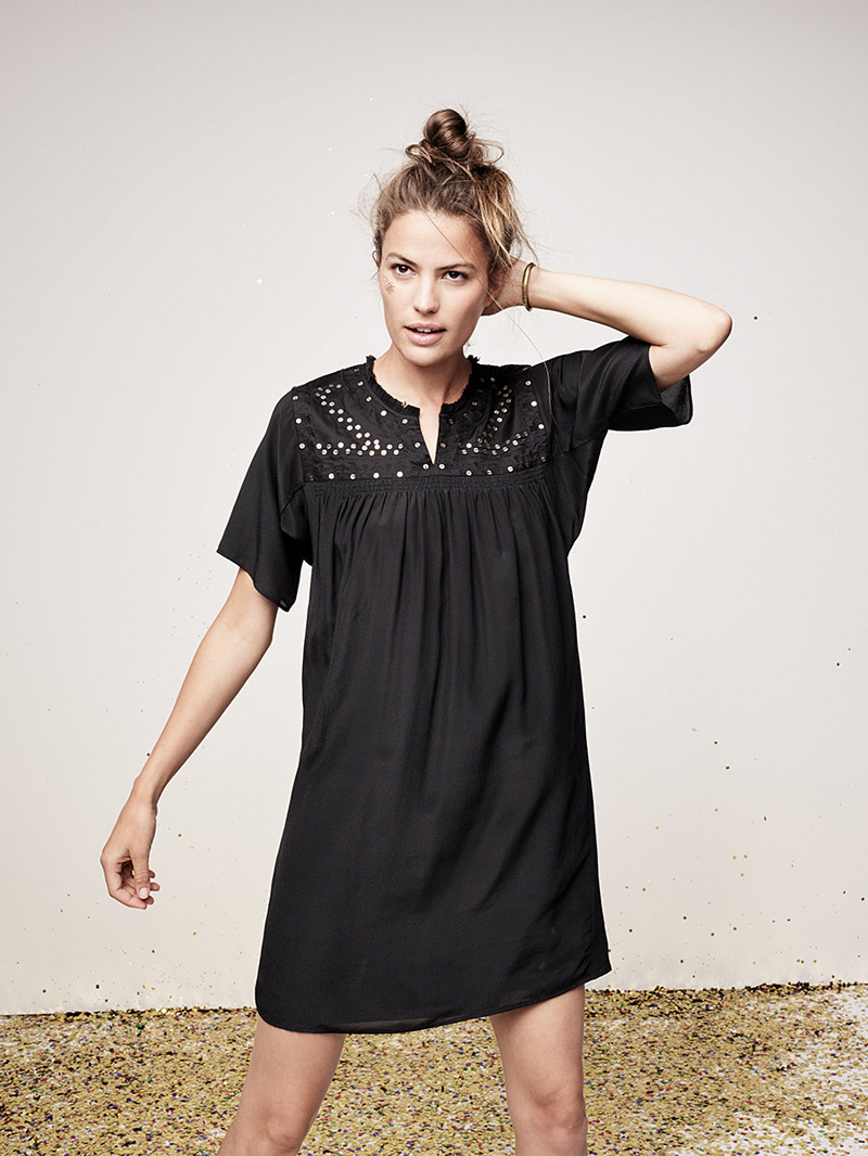 Madewell Embroidered Nightbell Dress