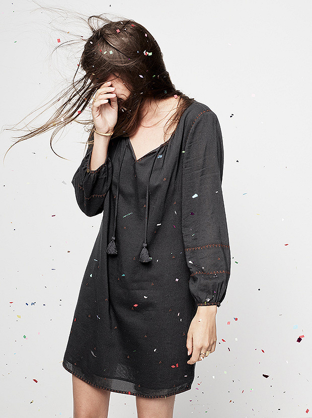Madewell Embroidered Signal Dress