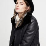 Madewell Shearling Motorcycle Jacket