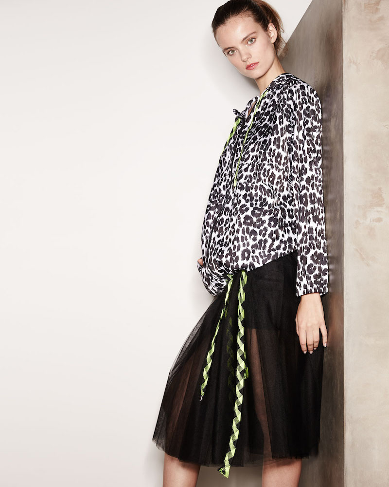 Marc Jacobs Leopard-Print Hooded Coat