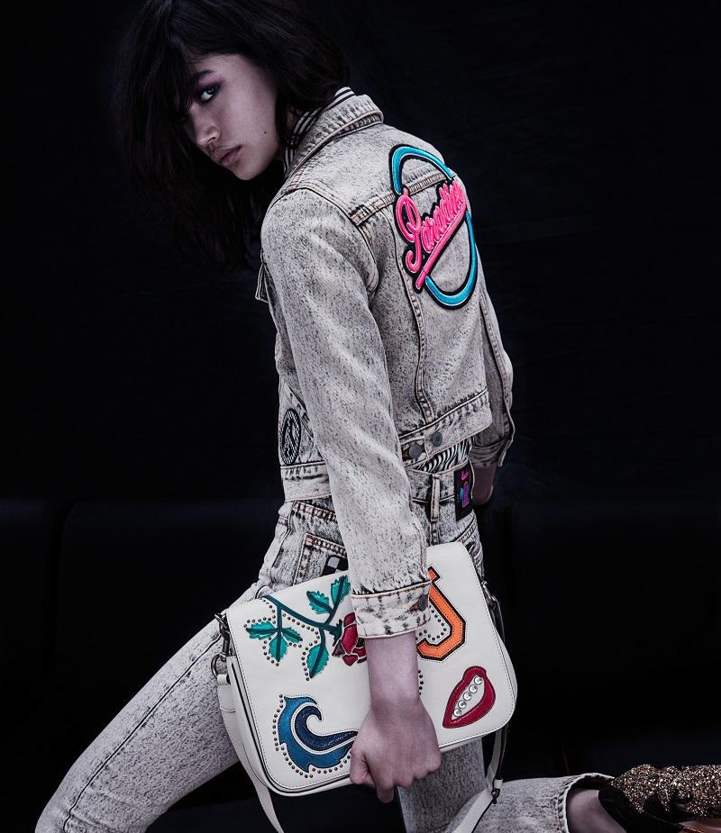 Marc Jacobs MJ Collage Messenger Bag