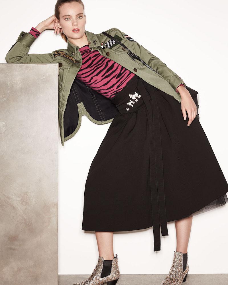 Marc Jacobs Paradise-Appliqué Military Jacket